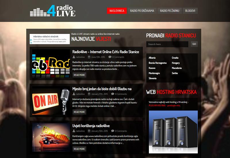 Radio 4 LIVE stream radio za online live internet radio
